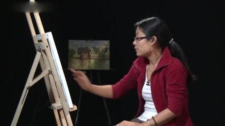学习油画松树油画教程视频, 素描入门买什么书好, 风景色彩教程美术高考人物速写