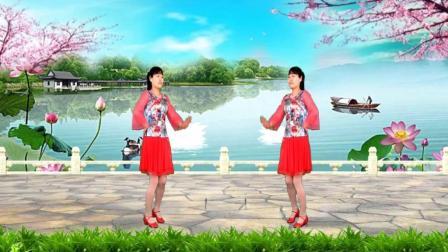 最美《今生的唯一》32步, 花开柳绿吐芬芳, 舞步优美自然, 好听好看