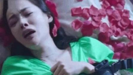 美女被人绑住四肢, 强行灌下不明药物, 美女的反抗让人心疼!