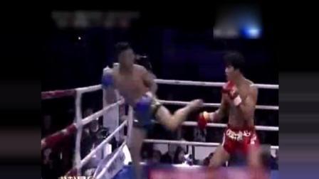 中国猛虎带着仇恨暴揍日本人, 日本拳手竟吓到后退逃跑!