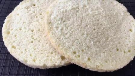 蛋糕胚子的做法 自制法式面包 学习烘焙技术