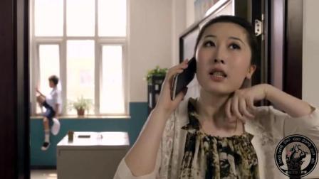 小明跳楼要老师改分数, 老师通知家长, 小明爸爸来了说也要跳。#搞笑视频##小明搞笑#