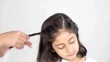儿童短发编发教程编头发视频简单易学, 赶紧为你的宝贝收藏了吧