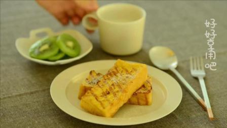 法式吐司好吃的烘焙美食, 一步一步教你做, 学起来很简单