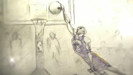 亲爱的篮球 科比退役感人的最佳动画短片