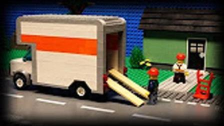 乐高搬运工的一天-Lego乐高城市小电影-儿童故事剧场★傲仔小天地★