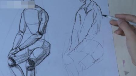 北京美术培训人物素描教程免费下载, 狗速写教程图片, 速写教程讲课视频下载素描全身像