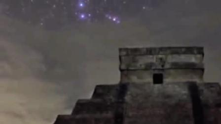 玛雅文明消失之谜! 神秘庙宇出现月球背面地图? 玛雅人或曾登月