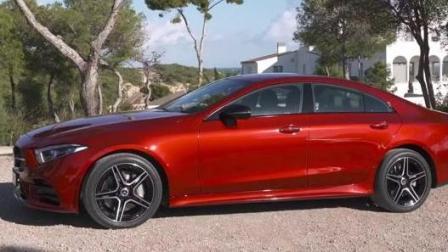 全新19款梅赛德斯奔驰CLS 450霸气外观抢先看!