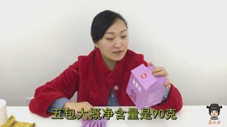 """女子评测""""百草味紫薯干"""", 原汁原味的味道就是好, 原来工艺也是这么复杂"""