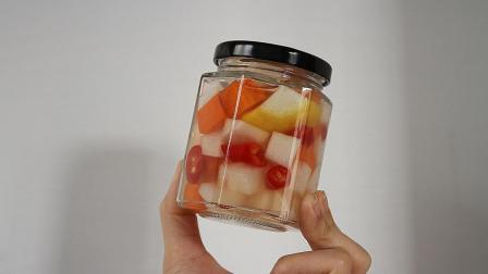 自制开胃小菜: 爽脆萝卜丁, 以前生活比较困难, 便经常作为下饭菜