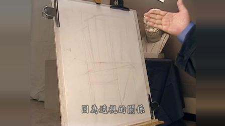 杭州美术培训速写入门技巧图解, 素描教程介绍, 风景速写入门图片临摹素描 几何体