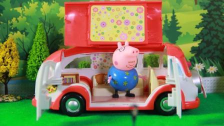 猪爸爸的快餐车开业了海底小纵队享受美食大餐