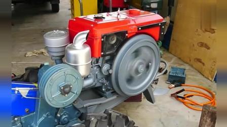 国产江动1100柴油发动机, 听听运行声音如何?