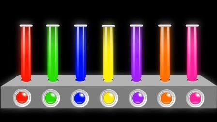 制作彩色冰激凌学颜色和数字