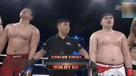 KO中国拳手的韩国王者又来华挑战 遭中国拳击冠军爆头KO 昏死场上