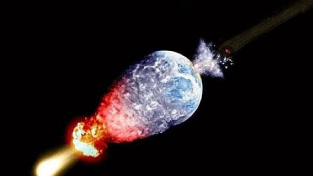 一粒沙子以光速撞击地球会怎样? 瞬间被击穿, 后果太可怕!