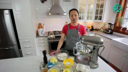 蒸蛋糕的做法视频 为了宝宝学做蛋糕面包 烤蛋糕