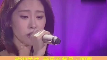 张碧晨第一次亮相我是歌手, 就给所有人来了一个下马威