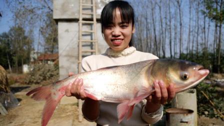 鱼头这种做法最好吃, 越吃越上瘾, 8斤胖头不够吃, 新人一看就会