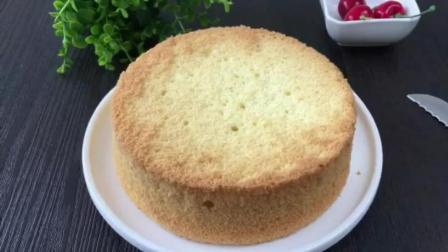 抹茶戚风蛋糕的做法6寸 烘培课 学习烘培