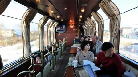 世界上最豪华的火车, 坐一次能买一辆车, 就在日本!