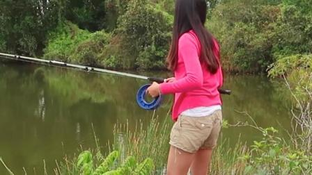 钓鱼: 这样的钓竿, 能抛得远吗?