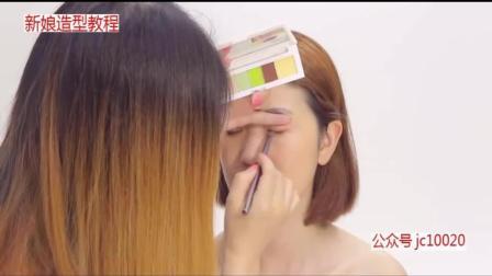 韩式新娘发型V脸技巧新娘造型韩式婚纱照新娘造型