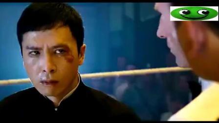 叶问挑战英国拳王, 最后是用洪拳把他打败的吧