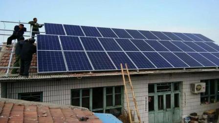 家庭100平米屋顶安装光伏发电, 成本资金是多少? 说出来你都不敢相信