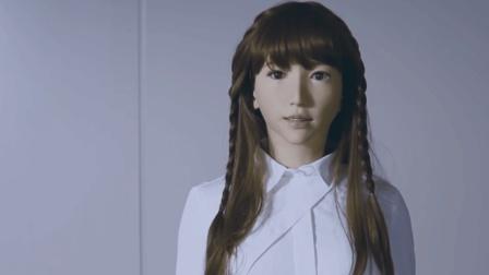 日本打造, 世界最美机器人, 五官表情丰富, 众多单身男士欲购买