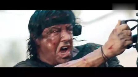 《第一滴血4》见识下重狙巴雷特和机关枪的真正威力, 非常震撼!