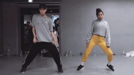 黑人妹子和白人帅哥跳舞, 有看点! 舞蹈音乐太炫酷!