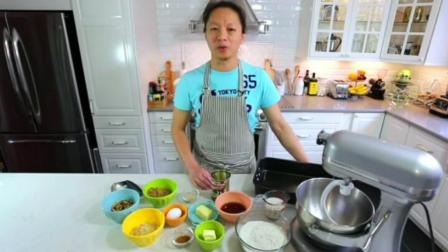 如何制作蛋糕 烤箱 香橙慕斯蛋糕的做法 学做蛋糕9烘焙原料