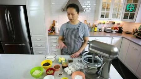 学习制作蛋糕 戚风蛋糕温度和时间 蛋糕奶油的制作