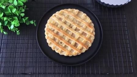 幼儿烘焙公开课视频教程 网格蜜桃派的制作方法 面包烘焙教程
