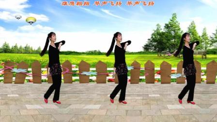 平淡广场舞《青青草原》编舞凤凰六哥 演示制作平淡是真 (纪念版)