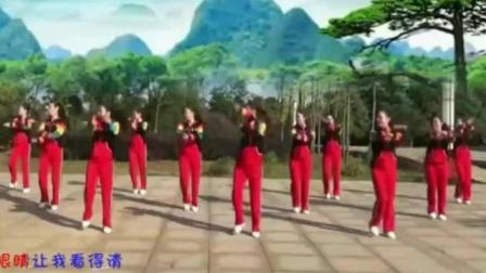 醉美情歌广场舞《真心换真情》歌好听, 舞好看