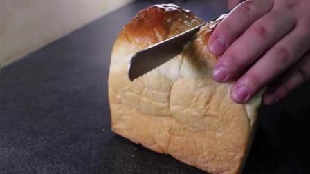 教你三分钟做美味早餐-奶油吐司面包