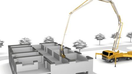 最新建房技术, 投入6万一天建40平洋房, 管住100年不倒!