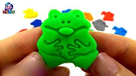 培乐多彩泥DIY 橡皮泥手工制作小动物