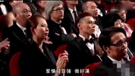 77岁林子祥超经典歌曲《男儿当自强》现场版, 气壮如山, 圈内各明星为其鼓掌喝彩