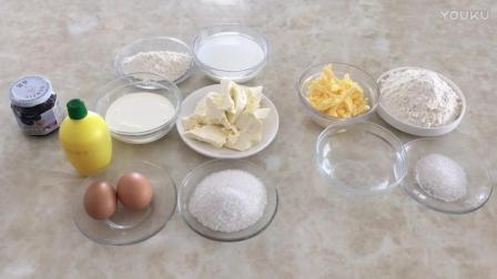 最简单的烘焙蛋糕做法视频教程 蓝莓乳酪派的制作方法 君之烘焙视频教程蛋糕