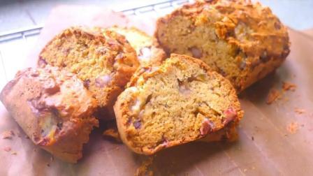 最快手简单的面包做法, 不揉面, 不发面, 把所有材料搅一搅就成了
