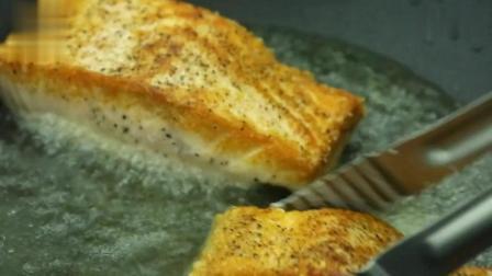 黄小厨的春夏秋冬: 手把手教你香煎三文鱼, 浪漫小情调在家就能有