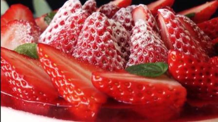 工作必备甜点: 草莓奶油蛋糕, 吃完这个整个人都来劲了