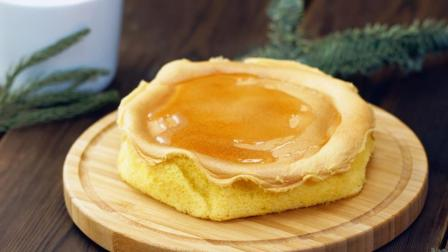 自己做媲美好利来的蜂蜜凹蛋糕, 吃蜂蜜更加美味健康!