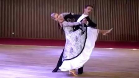 世界冠军华尔兹舞表演, 美哭了!