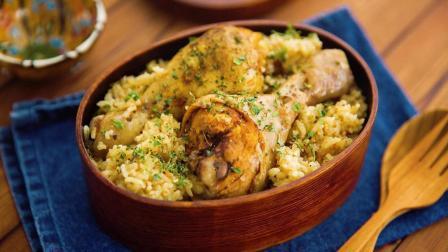 开学给你加鸡腿, 电饭锅印度香饭丨绵羊生存料理