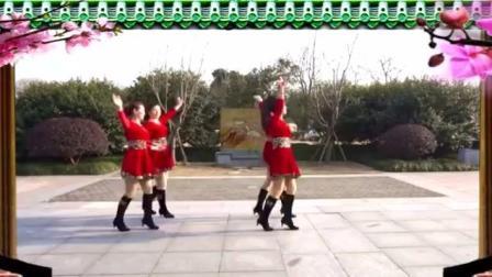 双人舞《情人桥》广场舞视频教学(87影音)